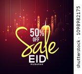 sale banner or sale poster for... | Shutterstock .eps vector #1098982175