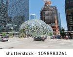 seattle  washington circa may... | Shutterstock . vector #1098983261