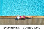 aerial  top down  copy space ...   Shutterstock . vector #1098994247
