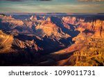an early morning view of the... | Shutterstock . vector #1099011731