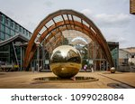Steel Ball In Front Of The...
