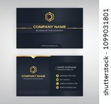business model name card... | Shutterstock .eps vector #1099031801