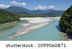 the tagliamento river  view... | Shutterstock . vector #1099060871