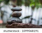 zen  gluten stone  spa concept... | Shutterstock . vector #1099068191