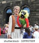 edinburgh  august 11  member of ... | Shutterstock . vector #109907009