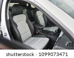 front seats of the new car. | Shutterstock . vector #1099073471