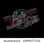sale off 15   beautiful...   Shutterstock .eps vector #1099077131