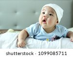 shooting 4 months infant baby | Shutterstock . vector #1099085711