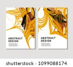 the abstract colorful... | Shutterstock .eps vector #1099088174