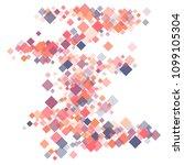 rhombus pattern minimal...   Shutterstock .eps vector #1099105304