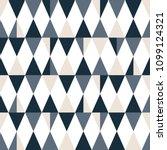 seamless  modern triangle... | Shutterstock .eps vector #1099124321
