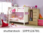 interior of children room with... | Shutterstock . vector #1099126781