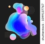 abstract soft gradient blur ... | Shutterstock . vector #1099137767