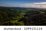 gold coast hinterland drone... | Shutterstock . vector #1099151114