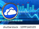 3d illustration of clouds... | Shutterstock . vector #1099160105