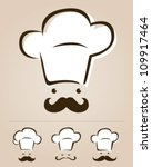 chef icon set | Shutterstock .eps vector #109917464