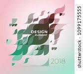 minimalistic design  creative...   Shutterstock .eps vector #1099175555