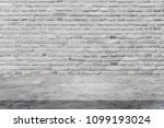 polishing cement table top and... | Shutterstock . vector #1099193024