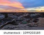 beautiful sunlight and cloudy... | Shutterstock . vector #1099203185