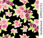 abstract elegance seamless... | Shutterstock . vector #1099211711