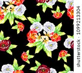 abstract elegance seamless...   Shutterstock .eps vector #1099213304