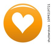 evil heart icon. simple... | Shutterstock .eps vector #1099219721