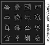 modern  simple vector icon set...   Shutterstock .eps vector #1099222577