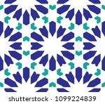 classical islamic seamless... | Shutterstock .eps vector #1099224839