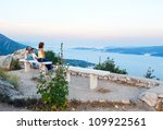 view from observation area on... | Shutterstock . vector #109922561