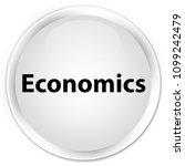 economics isolated on premium... | Shutterstock . vector #1099242479