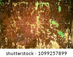 rusty and grungy metal iron...   Shutterstock . vector #1099257899