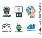 fun games symbol and icon | Shutterstock .eps vector #1099269095
