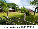 Old Farm In Smaland  Sweden ...