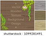 dark texture of wooden boards... | Shutterstock .eps vector #1099281491