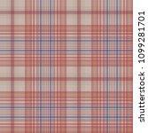 retro check plaid pixel... | Shutterstock .eps vector #1099281701