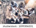 successful professionals. top... | Shutterstock . vector #1099306331
