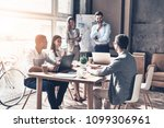 working through some concepts.... | Shutterstock . vector #1099306961