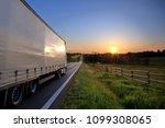 truck transportation on the...   Shutterstock . vector #1099308065
