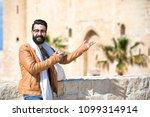 close shot of a handsome man...   Shutterstock . vector #1099314914