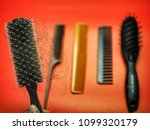 a comb rolls that is full of... | Shutterstock . vector #1099320179