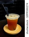 ice lemon tea | Shutterstock . vector #1099330274