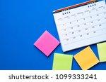 close up of calendar on the... | Shutterstock . vector #1099333241