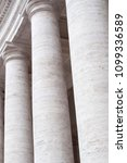 columns   in old city buiding | Shutterstock . vector #1099336589