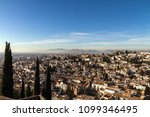 view from alhambra hill over... | Shutterstock . vector #1099346495