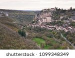 great view on the medieval town ... | Shutterstock . vector #1099348349