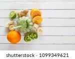 fresh milkshake from tropical...   Shutterstock . vector #1099349621