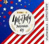 4th of july  independence day   ...   Shutterstock .eps vector #1099375499