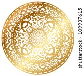 vector illustration of gold... | Shutterstock .eps vector #109937615
