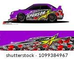 rally car vector livery....   Shutterstock .eps vector #1099384967