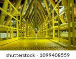 offshore bridge between... | Shutterstock . vector #1099408559